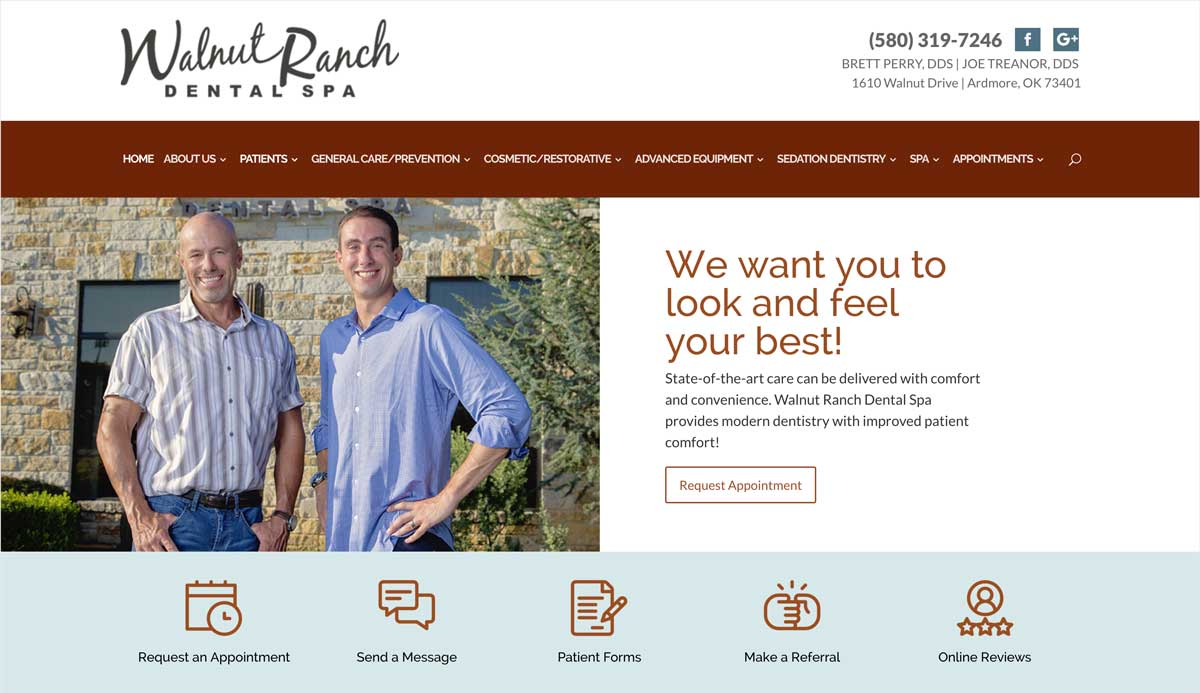 Walnut Ranch Website Design